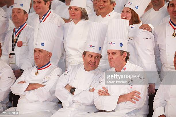 Chefs at the Bocuse D'Or international cooking competition