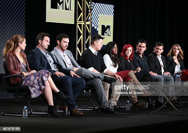 Chefs Brooke Williamson Brendan Collins Casey Lane cast members Brian JongHan Kho Suki Secka Amanda Shaw Harrison Bader and Executive Producers Mike...