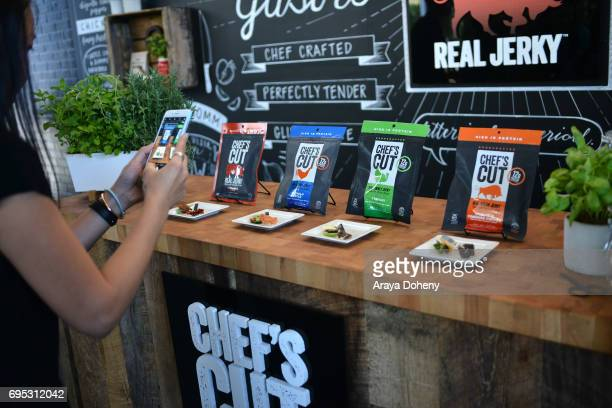 Chef's Cut Real Jerky event for National Jerky Day on June 12 2017 in Los Angeles California