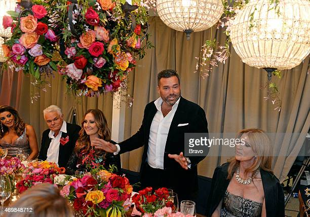 MELBOURNE Chef's Dinner Episode 205 Pictured Gina Liano Rick Wolfe Jackie Gilles Bruce Keebaugh