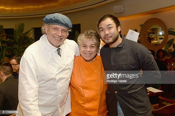 Chefs Francis Mallmann and Paul Qui attend a Dinner Hosted By Francis Mallmann And Paul Qui during 2016 Food Network Cooking Channel South Beach Wine...