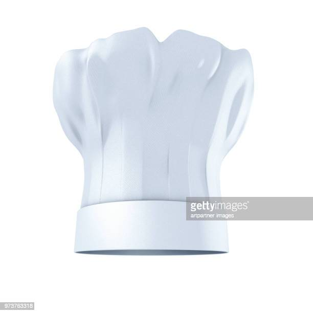 chef's hat against white background - image stock pictures, royalty-free photos & images