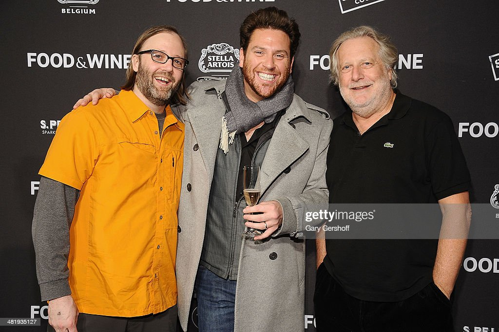 Chefs Wylie Dufresne, Scott Conant and Jonathan Waxman attend the 2014 FOOD & WINE Best New Chefs Party at Powerhouse at The American Museum of Natural History on April 1, 2014 in New York City.