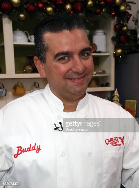 Chef/TV personality Buddy Valastro visits Hallmark's 'Home Family' at Universal Studios Hollywood on November 16 2017 in Universal City California