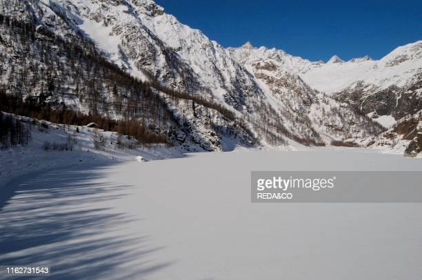Cheggio near Antronapiana Antrona Valley Verbania province Piedmont Italy