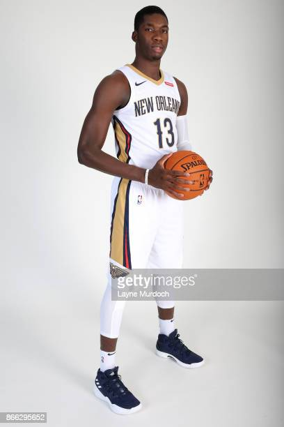Cheick Diallo of the New Orleans Pelicans poses for a portrait during 2017 NBA Media Day on October 10 2017 at the Ochsner Sports Performance Center...