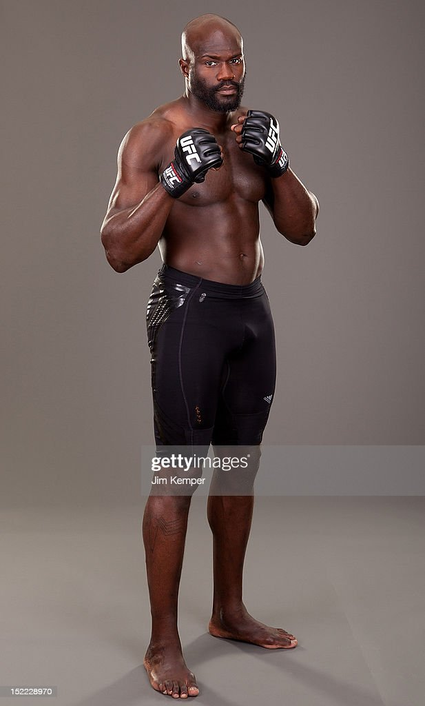 Cheick Kongo poses for a portrait on June 23, 2011 in Pittsburgh, Pennsylvania.
