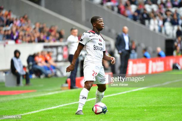 Cheick Omar Traore of Guingamp during the Ligue 1 match between Lille and Guingamp on August 26, 2018 in Lille, France.