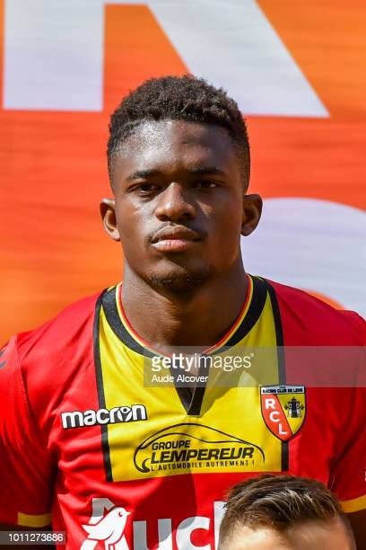 Cheick Oumar Doucoure of Lens during the Ligue 2 match between Lens and Red Star at Stade BollaertDelelis on August 4 2018 in Lens France