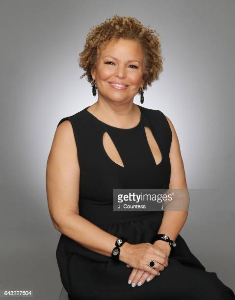 Cheif Executive officer of BET Debra Lee poses for a portrait for BET's 2017 American Black Film Festival Honors Awards at The Beverly Hilton Hotel...