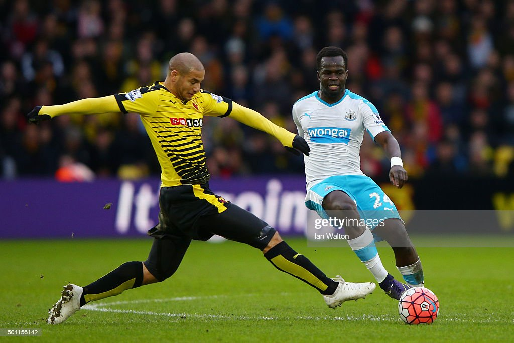 Watford v Newcastle United - The Emirates FA Cup Third Round : Nachrichtenfoto