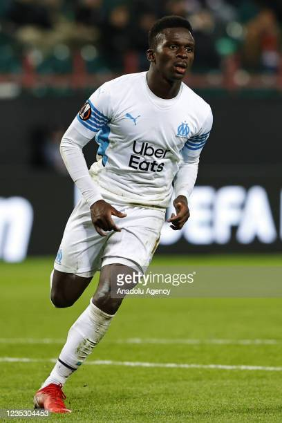 Cheikh Ahmadou Bamba Mbacke Dieng of FC Olympique de Marseille in action during the UEFA Europa League match between FC Lokomotiv and FC Olympique de...