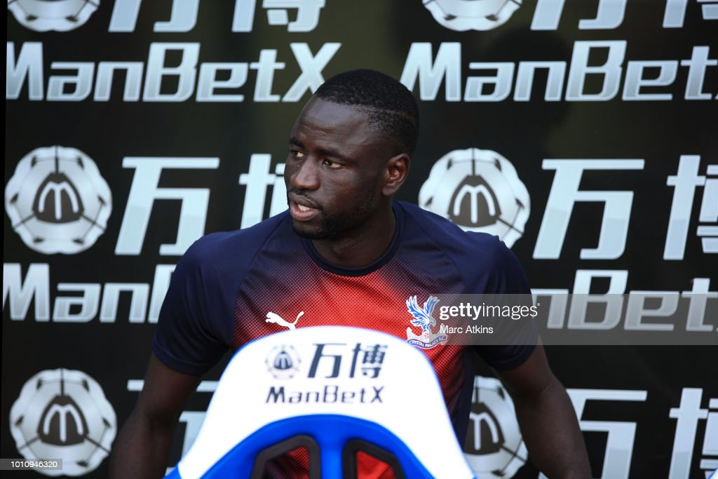 Cheikhou Kouyate of Crystal Palace during the Pre-Season Friendly between Crystal Palace and Toulouse at Selhurst Park on August 4, 2018 in London, England.