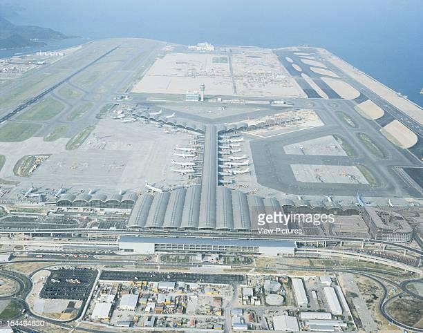 Chek Lap Kok, Hong Kong International Airport, Hong Kong, Hong Kong, Architect Foster And Partners Chek Lap Kok, Hong Kong International Airport...