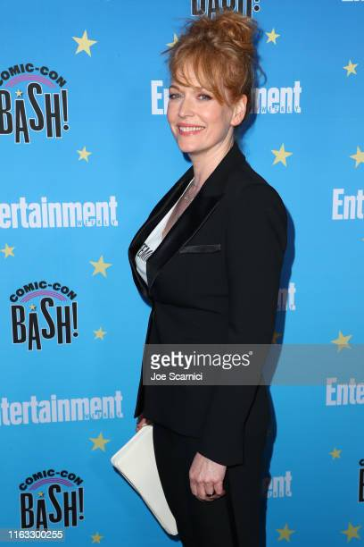 Chelah Horsdal arrives at the Entertainment Weekly ComicCon Celebration at Float at Hard Rock Hotel San Diego on July 20 2019 in San Diego California