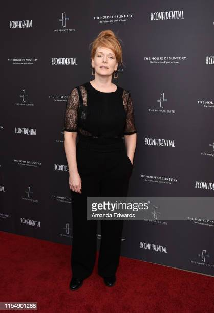 Chelah Horsdal arrives at the Los Angeles Confidential Magazine Impact Awards at The Line Hotel on June 09 2019 in Los Angeles California