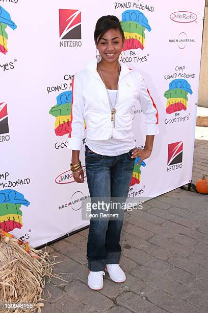 Chelese Tavares during Camp Ronald McDonald for Good Times – 14th Annual Halloween Carnival at Universal Studios Backlot in Universal City CA United...