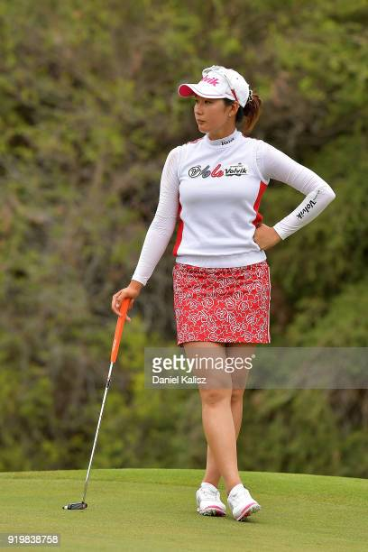 Chella Choi of Korea looks on during day four of the ISPS Handa Australian Women's Open at Kooyonga Golf Club on February 18 2018 in Adelaide...