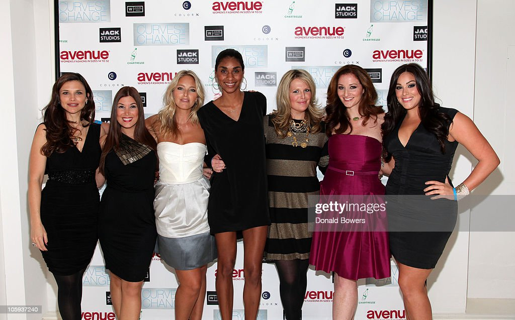The Models of Wilhelmina Curve Present 'Curves for Change' : News Photo