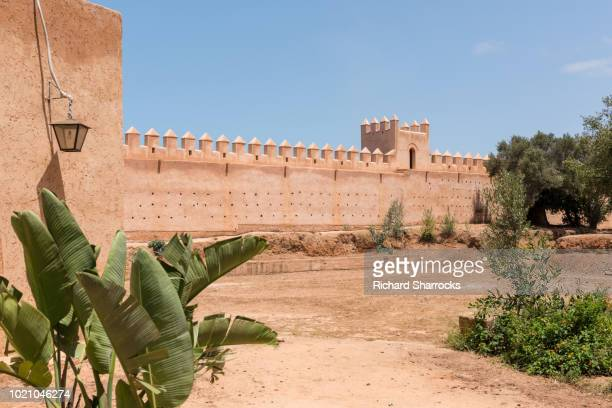 Chellah necropolis walls, Rabat, Morocco