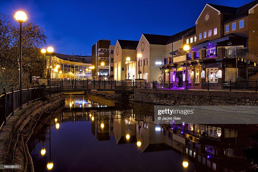 Chelmsford Town Centre : Foto de stock