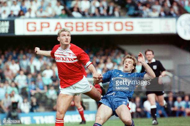 Chelsea 1 -0 Middlesbrough, 1988 Football League Second Division play-off Final, held at Stamford Bridge, 28th May 1988.