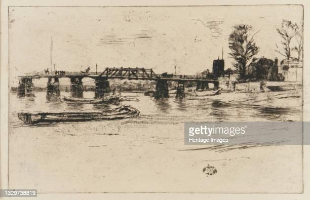 Chelsea, 1879. Artist James Abbott McNeill Whistler.