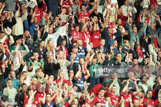Chelsea 2 0 Middlesbrough Premier League match held at the Cellnet Stadium 26th August 1995