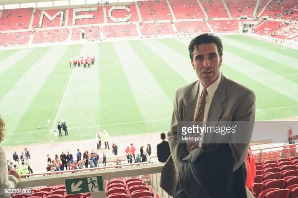 Chelsea 2 0 Middlesbrough Premier League match held at the Cellnet Stadium Bernie Slaven 26th August 1995