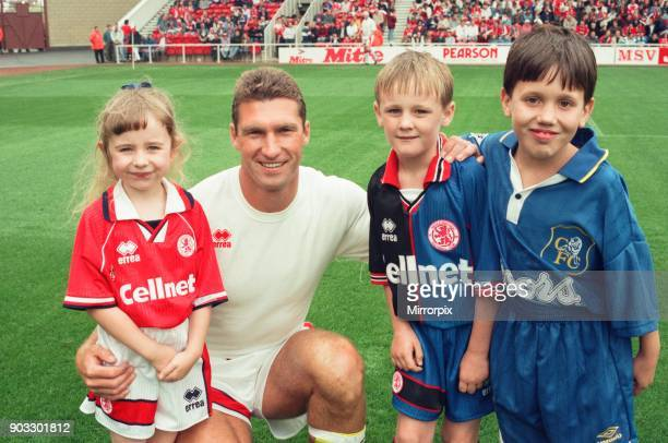 Chelsea 2 0 Middlesbrough Premier League match held at the Cellnet Stadium Nigel Pearson 26th August 1995