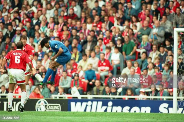 Chelsea 2 0 Middlesbrough Premier League match held at the Cellnet Stadium Ruud Gullit 26th August 1995