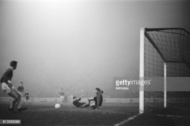 Chelsea 20 Workington League Cup Fifth Round Replay at Stamford Bridge Wednesday 16th December 1964