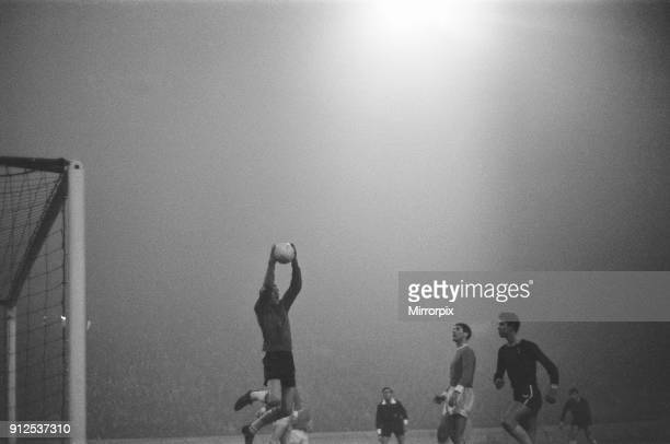 Chelsea 2-0 Workington, League Cup, Fifth Round Replay at Stamford Bridge, Wednesday 16th December 1964. Peter Osgood, Chelsea Striker in action....