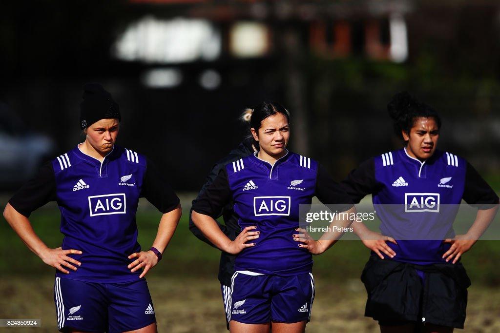 New Zealand Black Ferns Training Session
