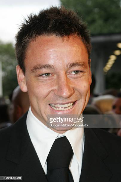 Chelsea and England footballer John Terry arrives at BBC Television Centre before the Mastercard FIFPro World XI Player Awards on September 19, 2005...