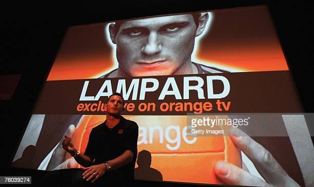 Chelsea and England star Frank Lampard launches Frank TV a new Mobile TV programme dedicated to him available exclusively on Orange's mobile phone TV...