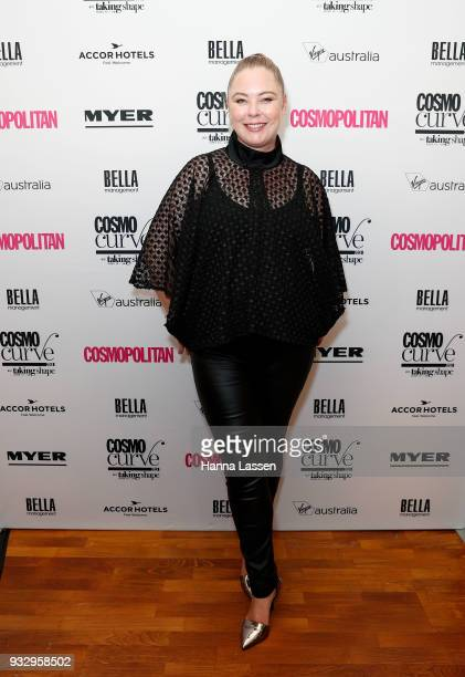 Chelsea Bonner attends the Cosmo Curve casting on March 17 2018 in Sydney Australia
