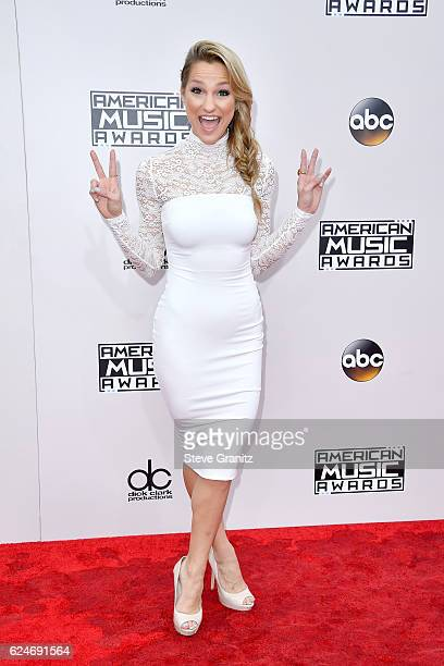 Chelsea Briggs attends the 2016 American Music Awards at Microsoft Theater on November 20 2016 in Los Angeles California