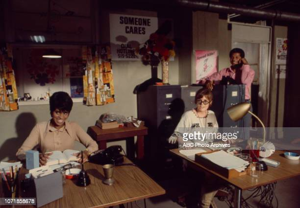 Chelsea Brown June Harding Felton Perry appearing in the Walt Disney Television via Getty Images pilot for 'Matt Lincoln' episode 'Dial Hot Line'