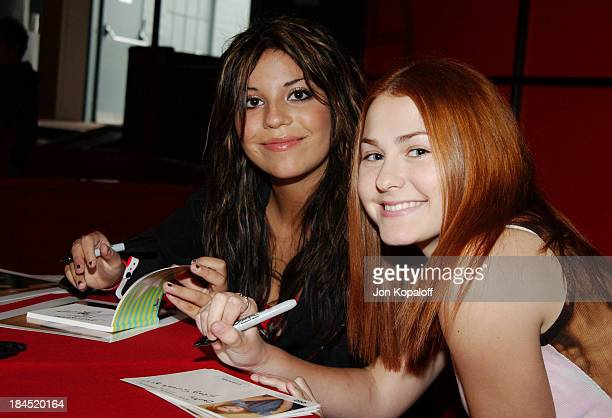 Chelsea Brummet and Scout TaylorCompton during Bogart Backstage Annual Fundraiser at The Hollywood Palladium in Hollywood California United States