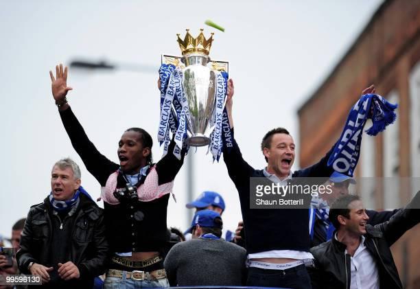 Barclays Premier League Trophy Parade Photos And Premium