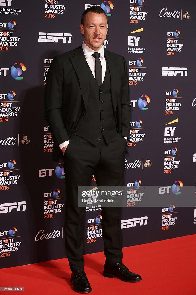 BT Sport Industry Awards - Arrivals : News Photo