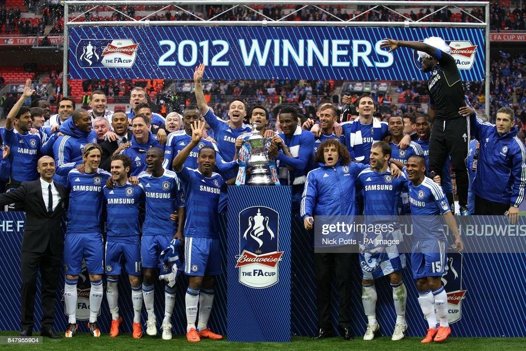 Soccer - FA Cup - Final - Liverpool v Chelsea - Wembley Stadium : News Photo