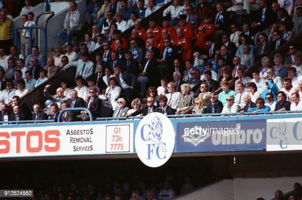 Chelsea Chairman Ken Bates. Chelsea 1 -0 Middlesbrough, 1988 Football League Second Division play-off Final, held at Stamford Bridge, 28th May 1988.