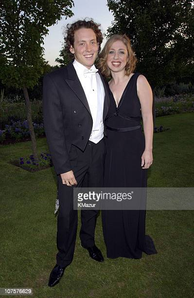 Chelsea Clinton and Ian Klaus during The White Tie Tiara Ball in London 2002 at Sir Elton John's Windsor home in London England United Kingdom
