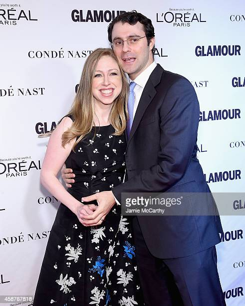 Chelsea Clinton and Marc Mezvinsky attend the Glamour 2014 Women Of The Year Awards at Carnegie Hall on November 10 2014 in New York City