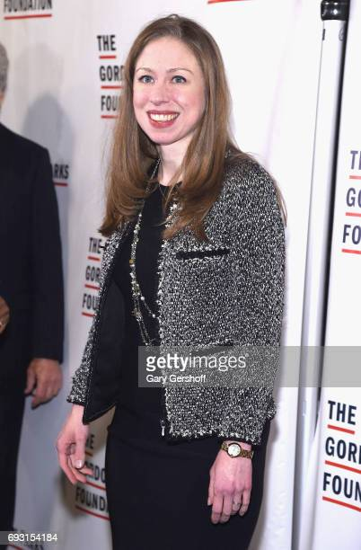Chelsea Clinton attends the 2017 Gordon Parks Foundation Awards gala at Cipriani 42nd Street on June 6 2017 in New York City