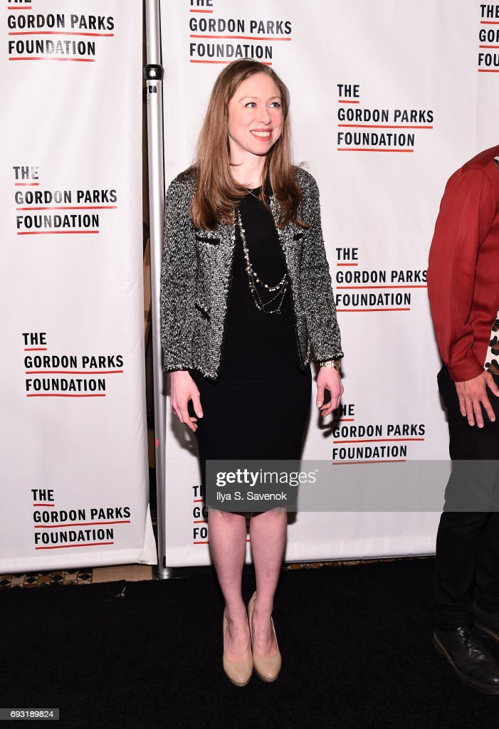 Chelsea Clinton attends the 2017 Gordon Parks Foundation Awards Gala at Cipriani 42nd Street on June 6, 2017 in New York City.