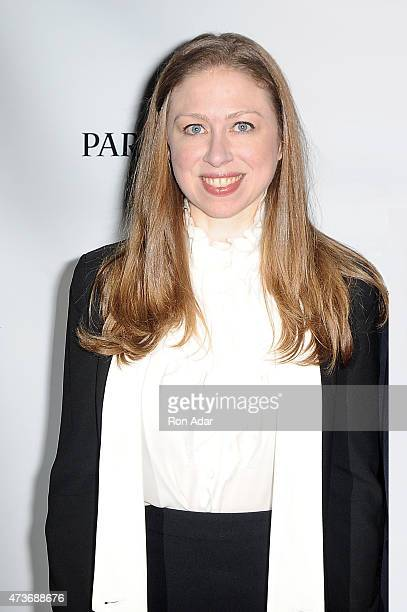 Chelsea Clinton attends the 24th Annual Jazz Loft Party at Hudson Studios on May 16 2015 in New York City