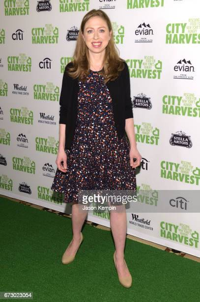 Chelsea Clinton attends the City Harvest's 23rd Annual Evening Of Practical Magic at Cipriani 42nd Street on April 25 2017 in New York City